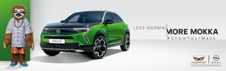 """Opel ist offizieller Partner von """"The Masked Singer"""""""