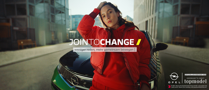 "JointoChange: Digitalkampagne zu ""Germany's Next Topmodel"""