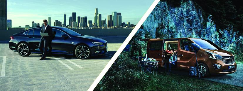 Opel Insignia und Vivaro Life: