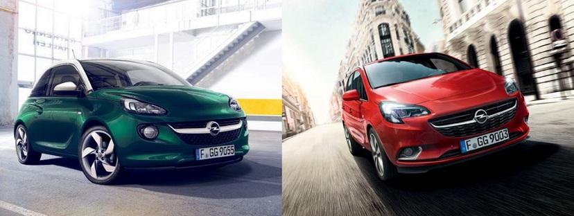 Opel Autoversicherungs-Flat für ADAM und Corsa