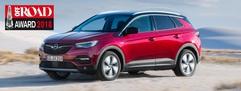 Opel Grandland X siegt beim Off Road-Award