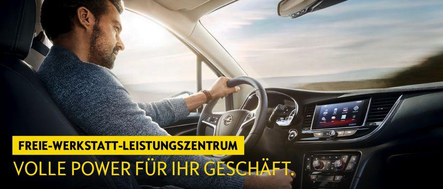 Opel - Auto-Jacob GmbH - Zugang für Freie Werkstätten