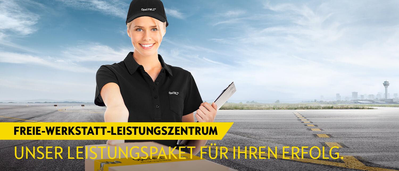 Opel Service FWLZ Freie Werkstatt Leistungszentrum