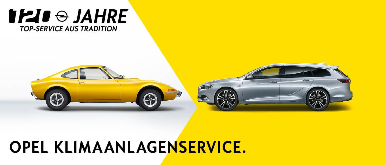 Opel Service Klimaanlagenservice