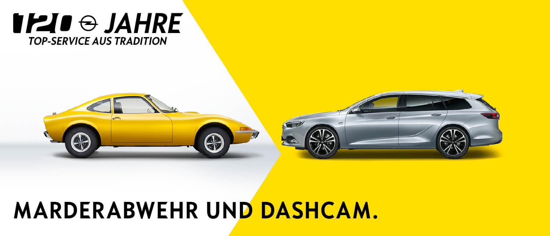 Opel Service Frühjahr 2019 Marderabwehr und Dashcam