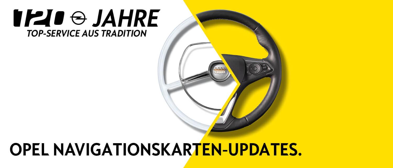 Opel Navigationskarten-Updates