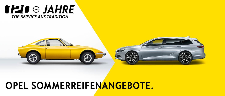 Opel Service Frühjahr 2019 Sommerreifenangebote